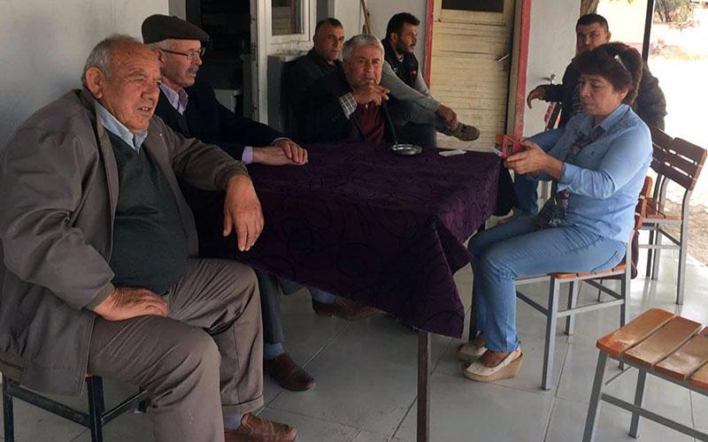 CHP Baklan belediye başkan aday adayı Tuyji ziyaretlere başladı