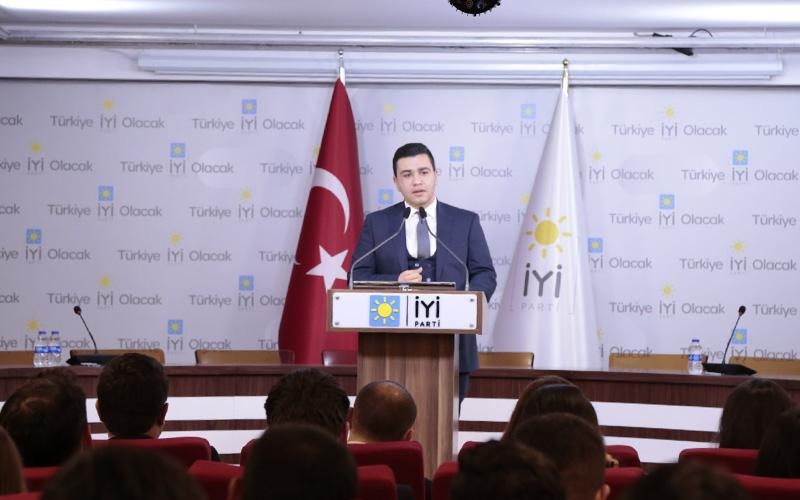 Can Çapar, İYİ Parti Gençlik Kolları GİK Üyesi oldu