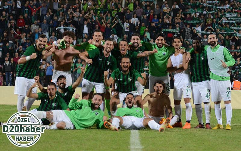 Denizlispor 1. Ligin en golcü 2. takımı
