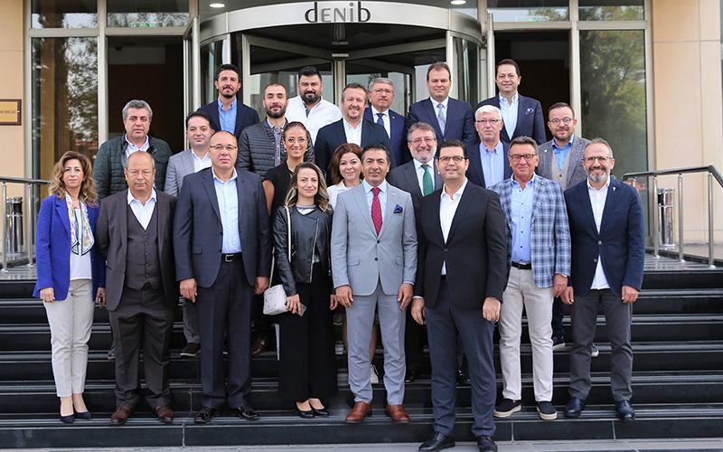 DTO ile DENİB'in yönetim kurulları buluştu