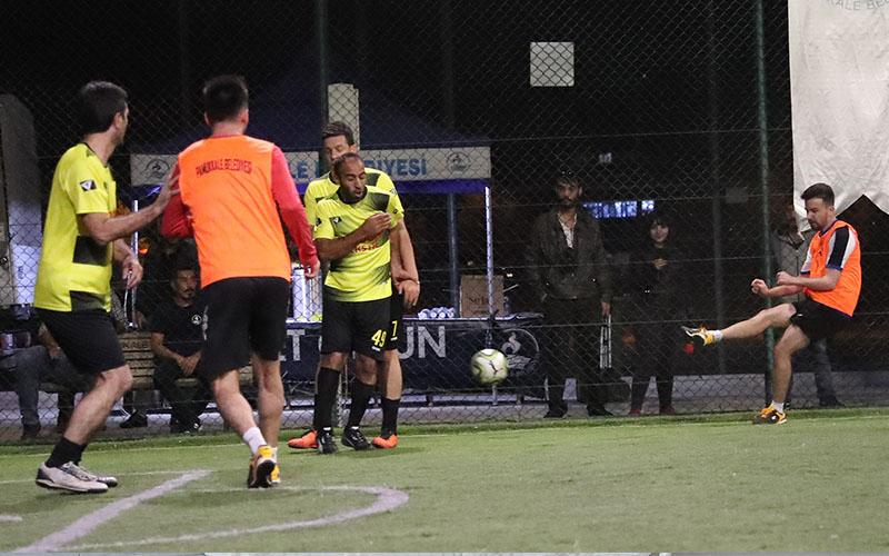 Futbol şöleninde final heyecanı