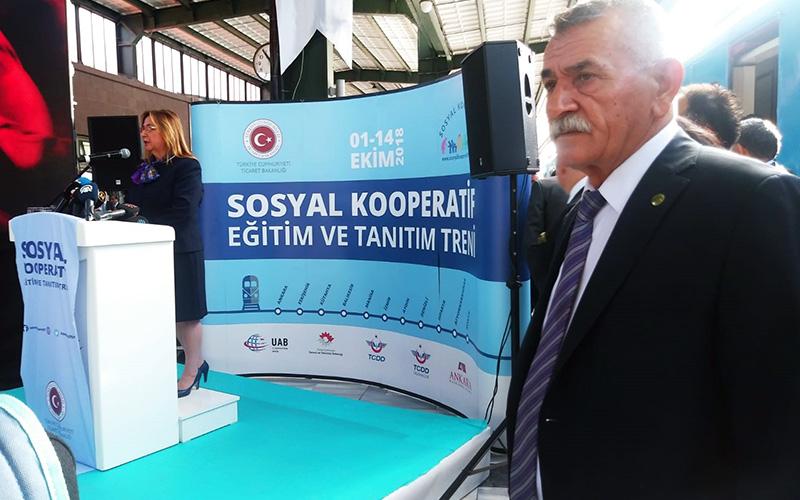 Sosyal Kooperatifler Tanıtım ve Eğitim Treni 10 Ekim'de gelecek