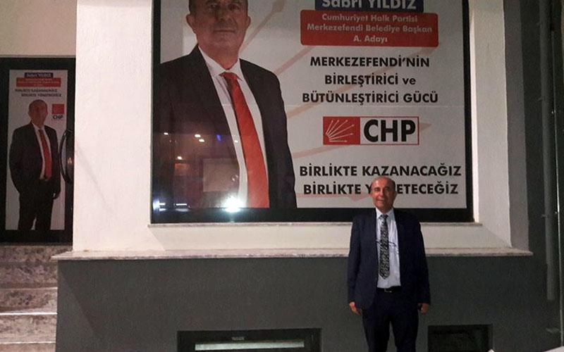 CHP Merkezefendi'de ilk aday adayı Sabri Yıldız
