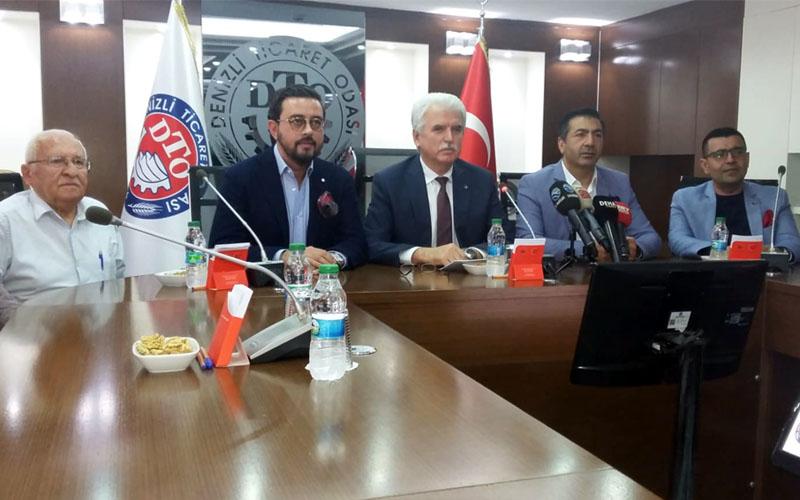Oda başkanları: Enflasyonla mücadelede Denizli ön safta yer alacak