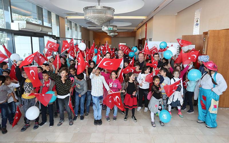 Pamukkale Belediyesi'nden Cumhuriyet Çocuk Şenliği