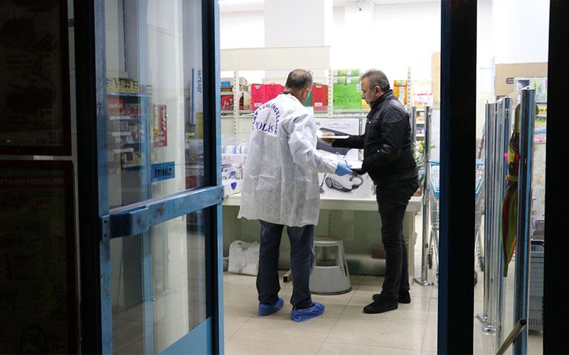 Denizli'de silahlı market soygunu