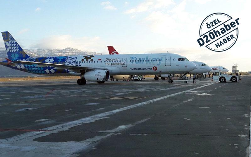 Uçak seferlerinde kış tarifesine geçildi