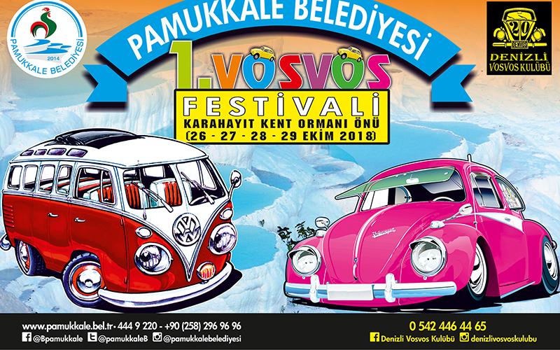 Pamukkale, Vosvos Festivali'ne ev sahipliği yapacak