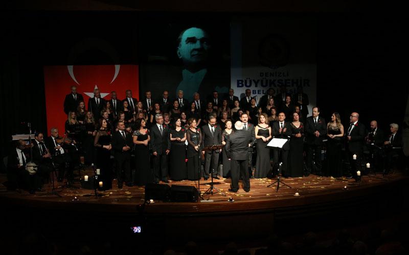 Atatürk sevdiği şarkılar konseriyle anılacak