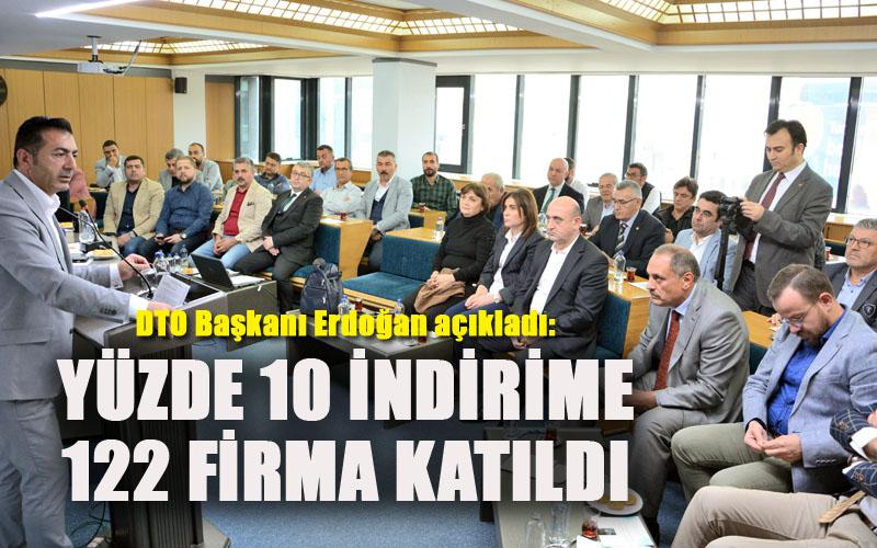 Erdoğan: İndirim kampanyasına 122 firma destek verdi