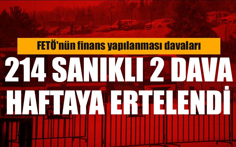 FETÖ'nün Denizli finans yapılanması davaları haftaya ertelendi