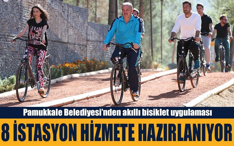 Pamukkale Belediyesi'nden akıllı bisiklet uygulaması