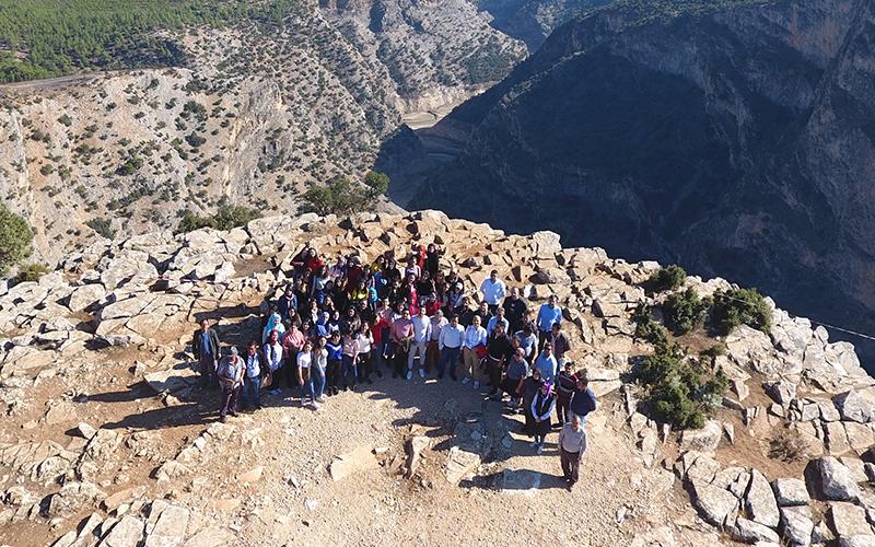 PAÜ öğrencilerine İnceğiz Kanyonu gezisi