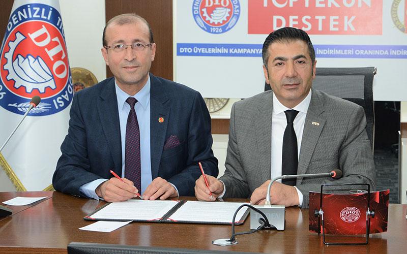 DTO ile DGC protokol imzaladı