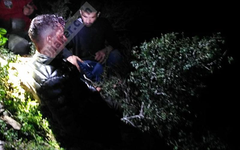 Dağda ağır yaralı bulunan İranlının yaşam savaşı