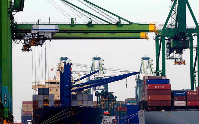 Denizli, aralıkta 115 milyon dolarlık ithalat yaptı