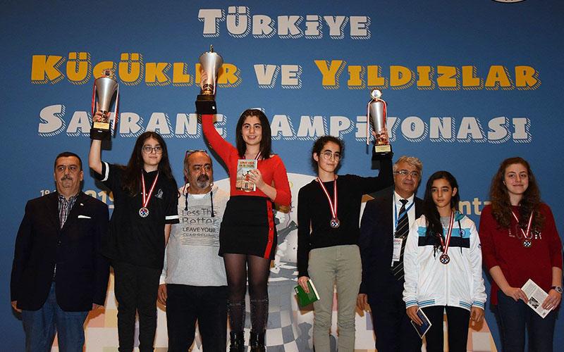 Satrançcılardan 2 altın, 2 gümüş, 1 bronz madalya