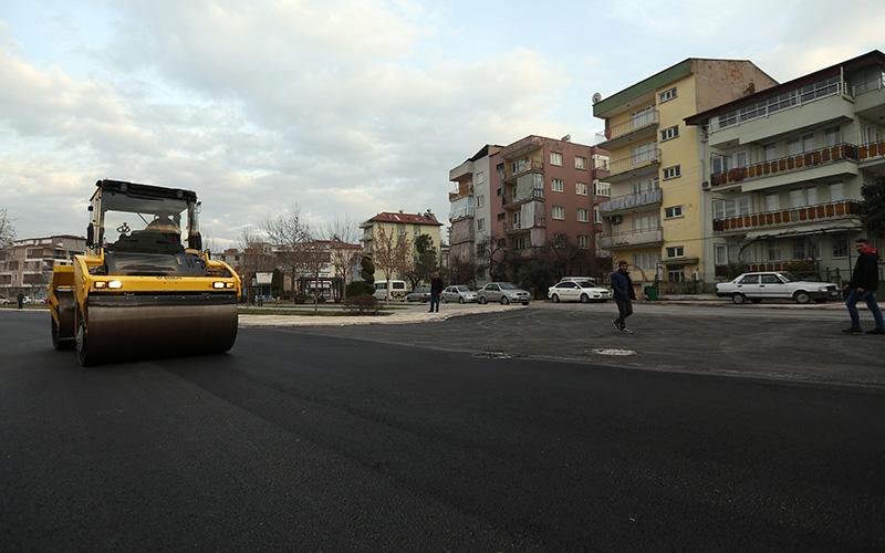 Şehit Er Yılmaz Zeren Caddesi'nin üst yapısı yenilendi