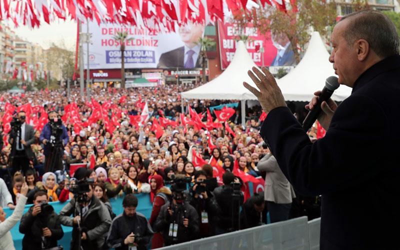 Erdoğan'ın miting yeri ve saati belli oldu