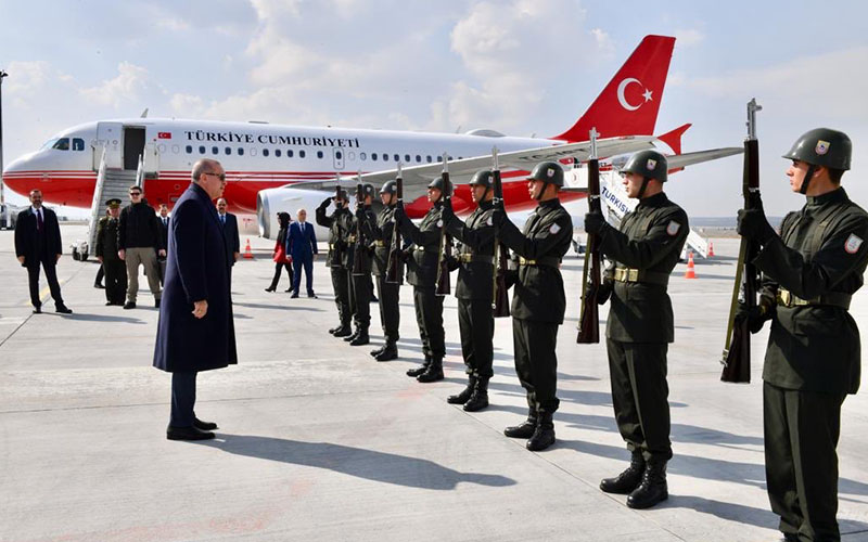 Cumhurbaşkanı Erdoğan, Denizli'de