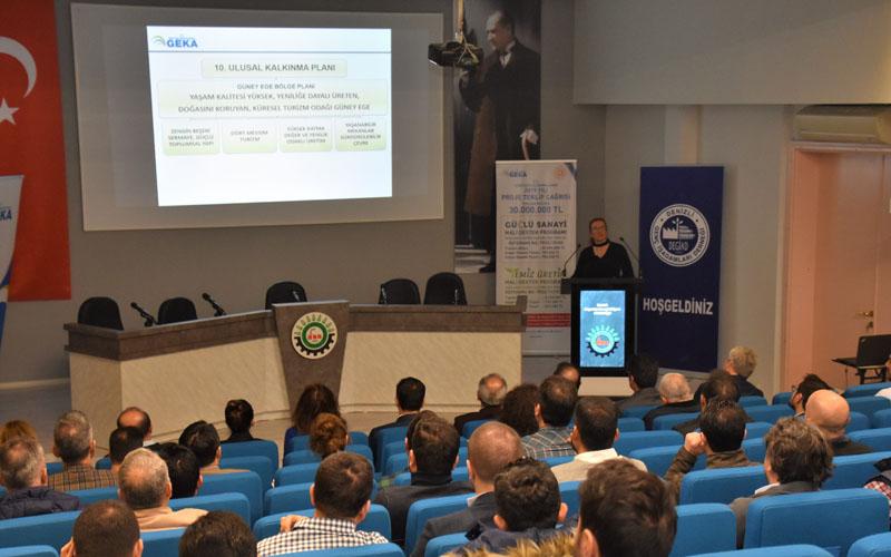 Denizli OSB'de hibe destek programları anlatıldı
