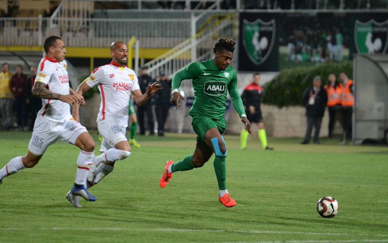 Denizlispor, Göztepe'yi 1-0 yendi