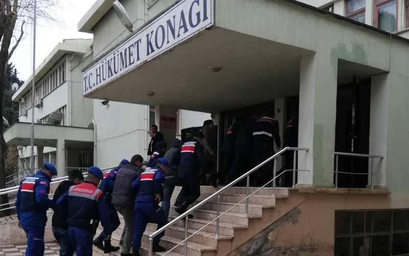 Kaçak kazı operasyonunda 17 kişi gözaltına alındı