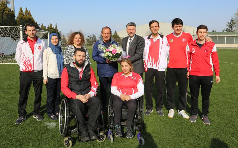 Engelliler Meclisi'nden Denizlispor'a ziyaret