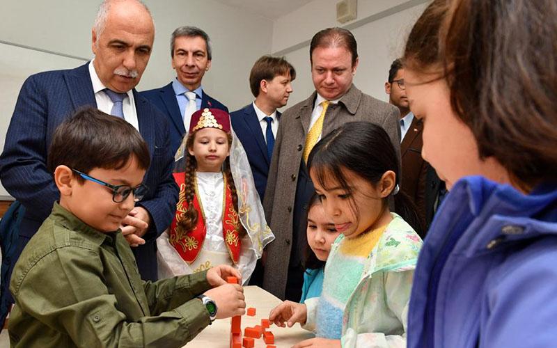 Ülker Yörükoğlu Bilim Sanat Merkezi açıldı
