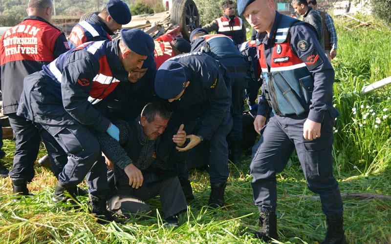 Aydın'daki kazada Denizlili sürücü ve arkadaşı can verdi