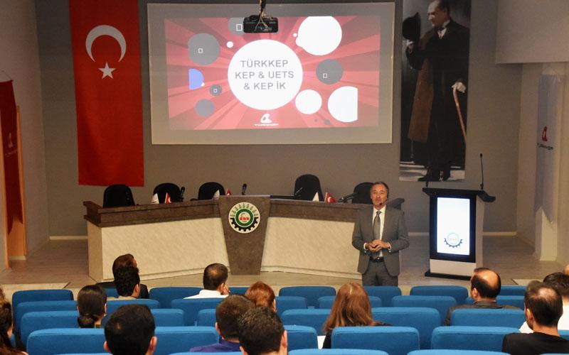 Denizli OSB'de şirket yöneticilerin e-dönüşüm anlatıldı