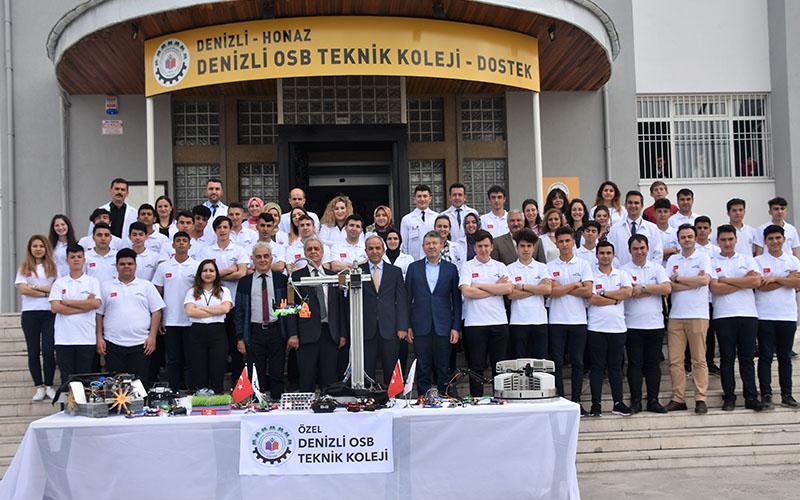 DOSTEK öğrencileri 13. Uluslararası Robot Yarışması'na katılıyor