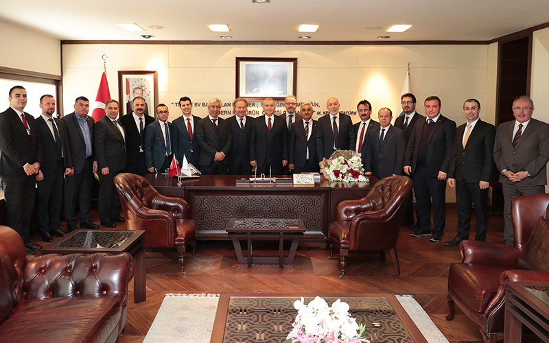 Denizlili Turizmcilerden Başkan Zolan'a teşekkür ziyareti