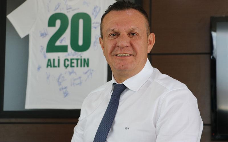Çetin'den, Süper Lig hedefleri