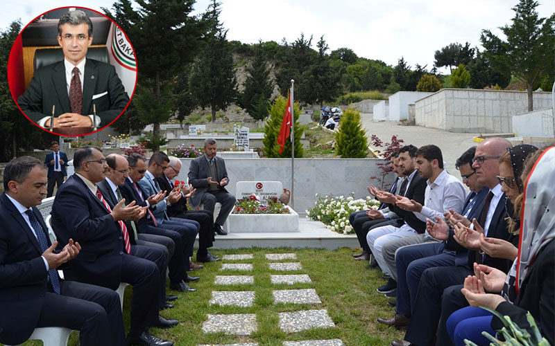 Şehit Başsavcı Mustafa Alper, Söke'de anıldı