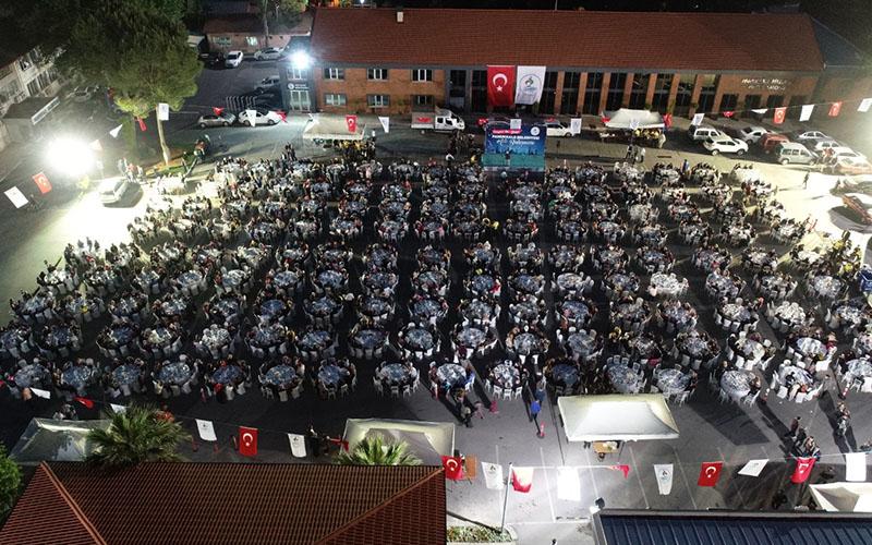 Pamukkale Belediyesi çalışanları ile iftar buluşması