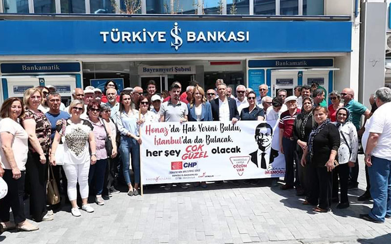 CHP'lilerden İmamoğlu'na 'her şey çok güzel olacak' bağışı