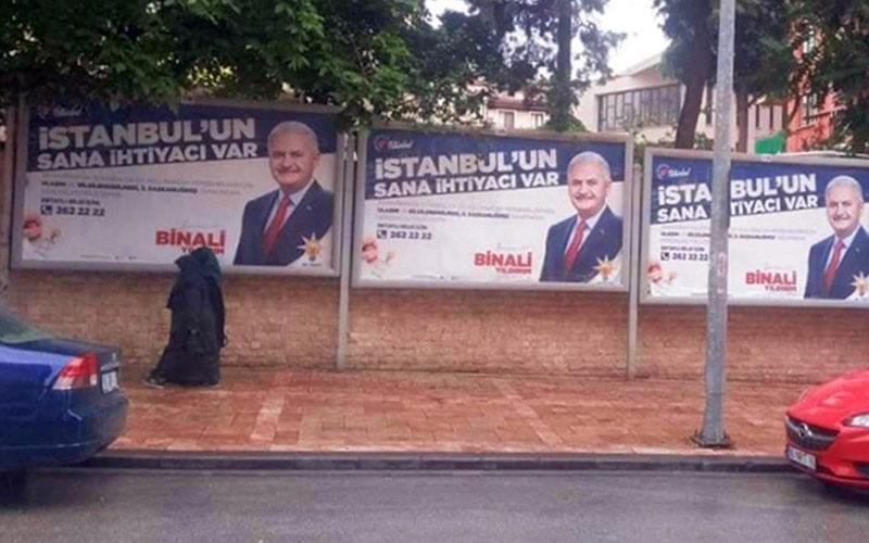 CHP'den Yıldırım afişlerine itiraz geldi