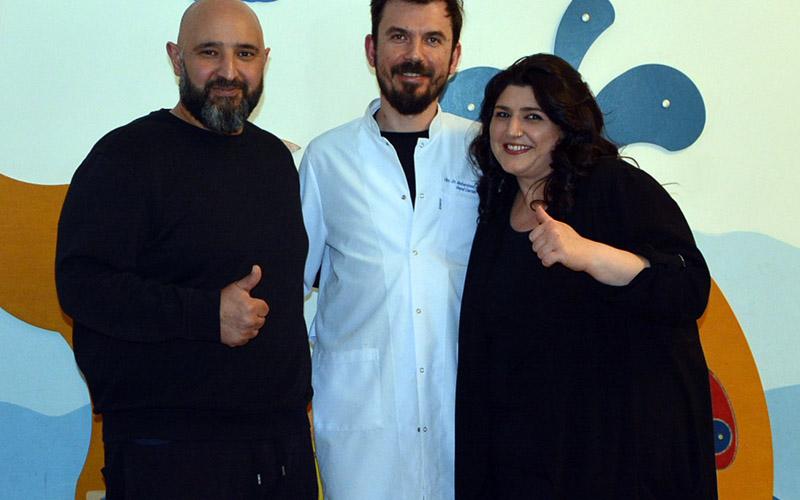 İranlı çift, obezite ameliyatı için Denizli'ye geldi