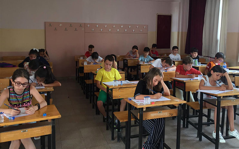 Robotik Kodlama Akademisi sınavına 425 öğrenci katıldı