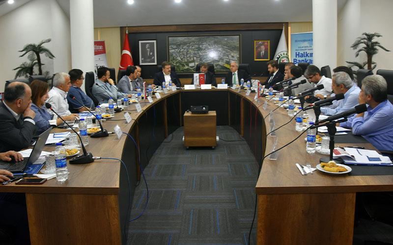 Denizli OSB'de ortak akılla çözüm toplantısı