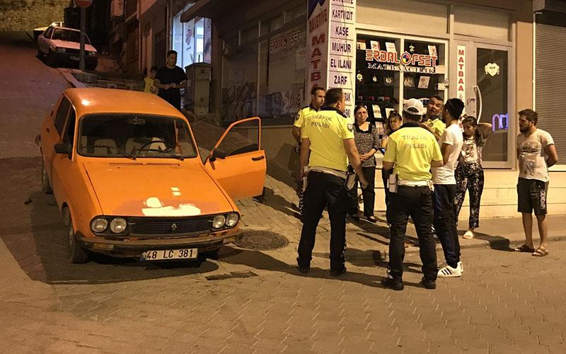 Drift yapan sürücüye 7 bin lira para cezası