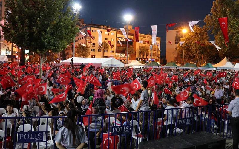 15 Temmuz Demokrasi ve Milli Birlik Günü etkinlikleri Çınar'da