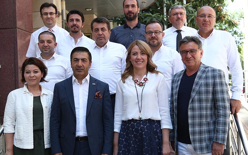 DTO yönetiminden Doğan'a ziyaret