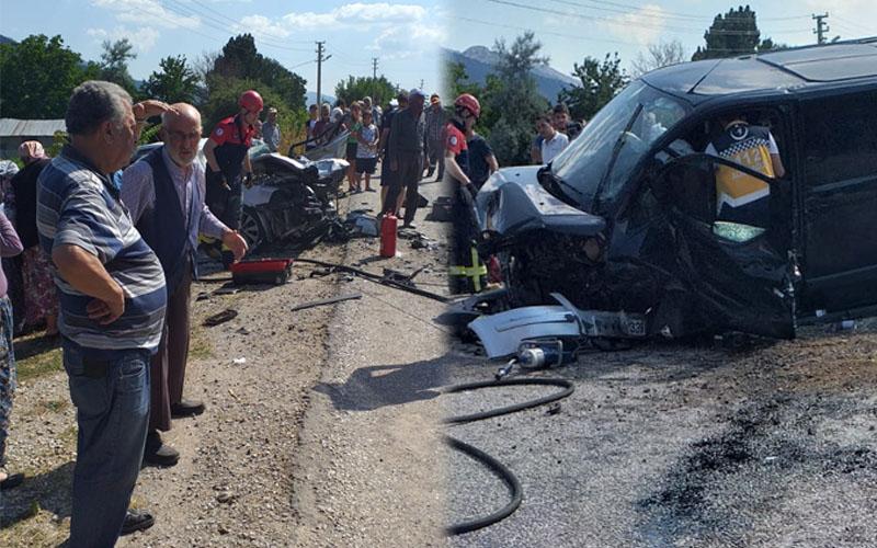 Çameli-Fethiye karayolunda feci kaza: 5 yaralı