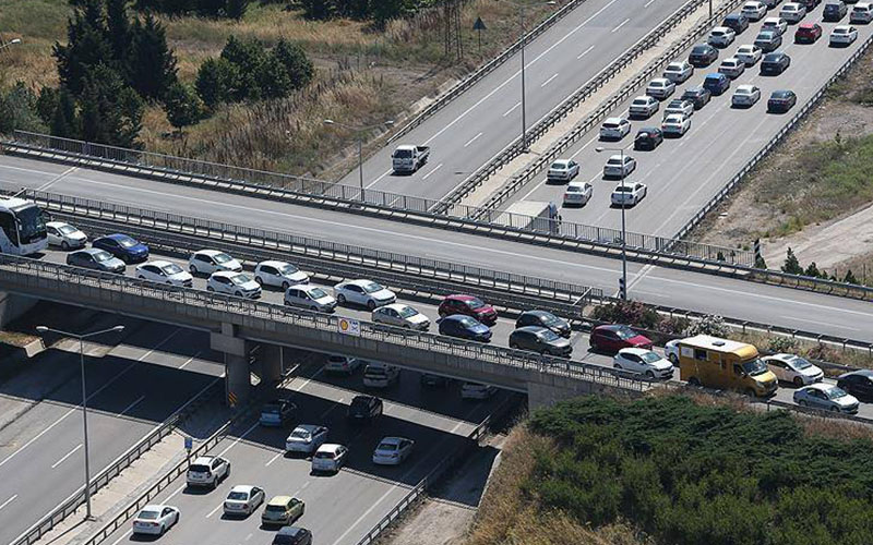 Denizli'de motorlu taşıt yüzde 1.7 arttı