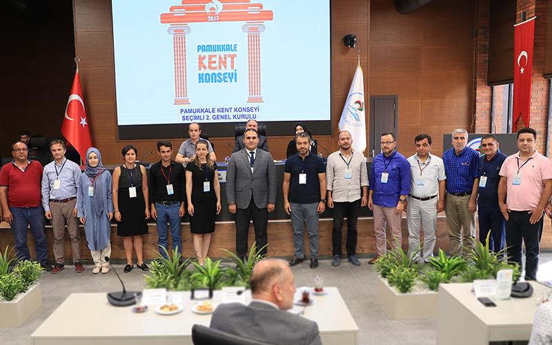 Pamukkale Kent Konseyi'nin yeni yönetimi belirlendi