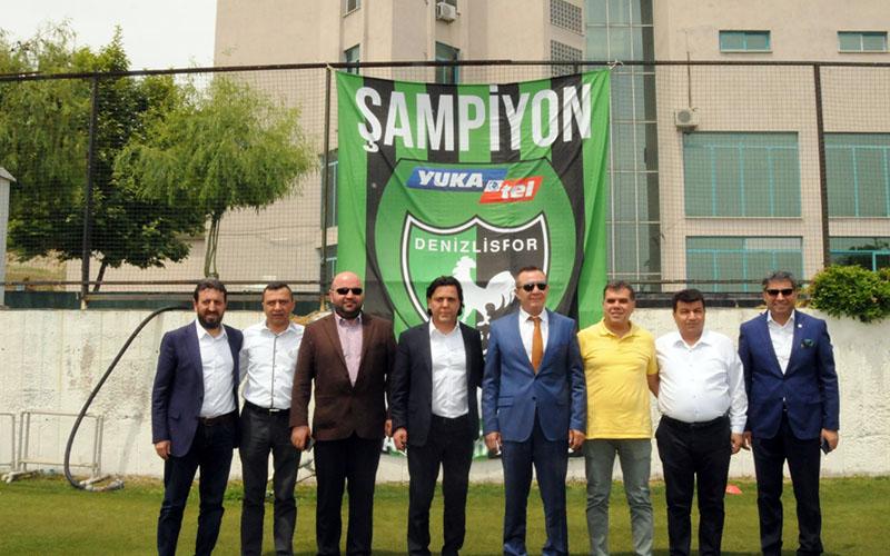 Yukatel'den Denizlispor'a 200 bin avroluk forma reklamı