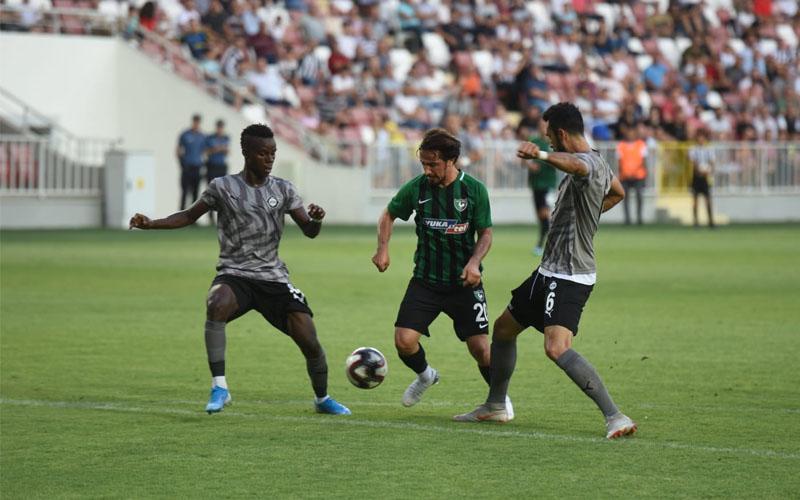 Denizlispor, hazırlık maçında Altay'a yenildi