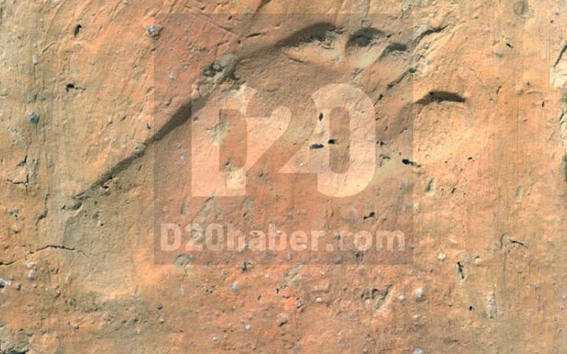 Bu ayak izi 1500 yıllık